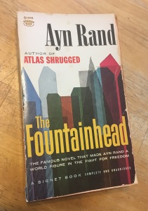 Cover of The Fountainhead by Ayn Rand
